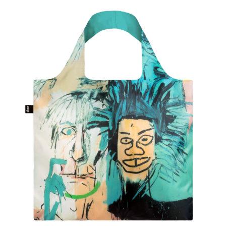 KOLOR JB.WA-LOQI-basquiat-warhol-bag