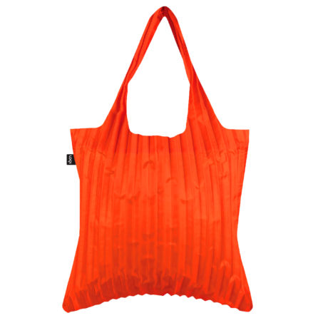 KOLOR PL.OR-LOQI-pleated-bag-orange